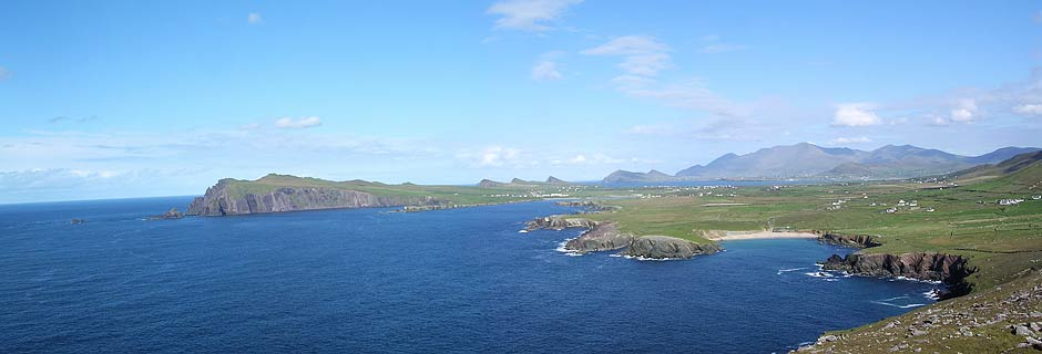 The tip of the Dingle Peninsula